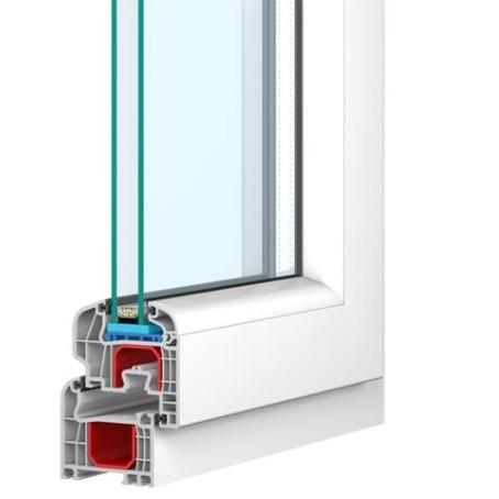 kunststofffenster 100 x 60 cm links kunststoff fenster drehkippfenster schneeberg. Black Bedroom Furniture Sets. Home Design Ideas